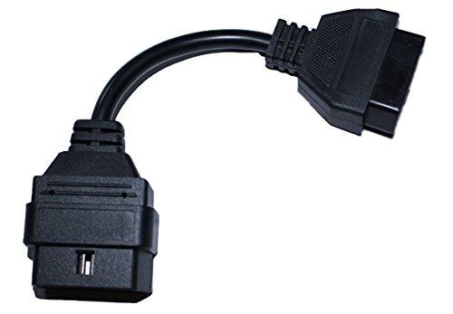 Pin7 - Pin8 - Connector für das MaxDia Diag2+ (Baujahr 1996-2016) zur Erweiterung der Kompatibilität auf Fahrzeug ab Baujahr 1996 zur Diagnose (Fehlerspeicher lesen und löschen) und Codierung