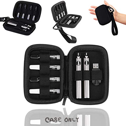 (Case Only) Portable Bag Vape Carrying Case Tool Pouchs Carrying Bag Travel Case for Vape Pen 510 Battery Charger [Case Only]