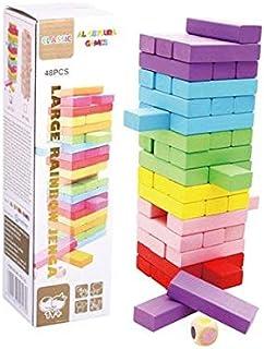 Al ostoura toys larger rainbow Jenga