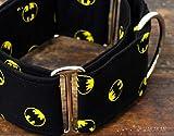 Collar Martingale Para Perro: Batman, Hecho a Mano en España por Wakakán