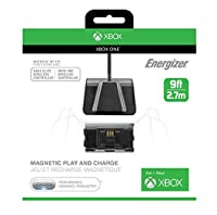 PDP Energizer Magnetic Play and Charge Cable with Recharge Battery - Xbox One [並行輸入品]