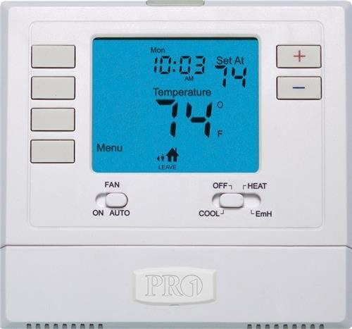 New life PRO1 IAQ T725 Programmable Super-cheap 2H 1C Pump wi Heat Thermostat Digital