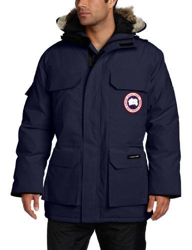 Canada Goose Expedition - Parka para Hombre, otoño/Invierno, Hombre, Color Azul Marino, tamaño L