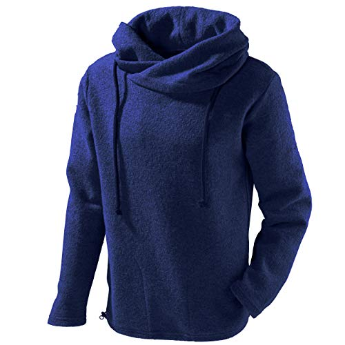 Mufflon Unisex Wollpullover Mu- Lucca W100 Nachtblau - M