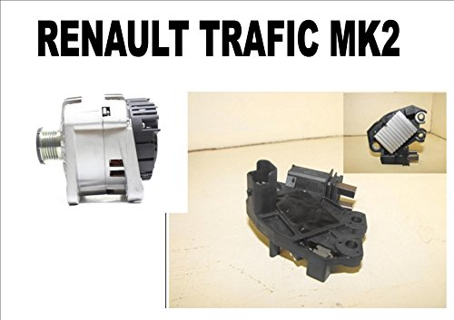 Regulador alternador para Renault Trafic MK2 MK II 1.9 2.5 2001 2002...