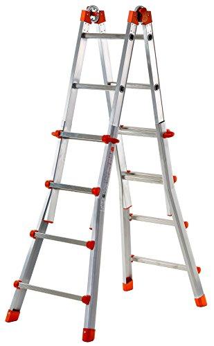 Gierre - Escalera Multiposición De Aluminio Peppina (5+5 Peldaños)