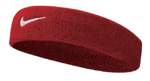 Nike UnisexErwachsene Swoosh Headband/Stirnband, Rot (Varsity red/white), Einheitsgröße