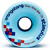 Orangatang Wheels Stimulus 70mm 77A Blue
