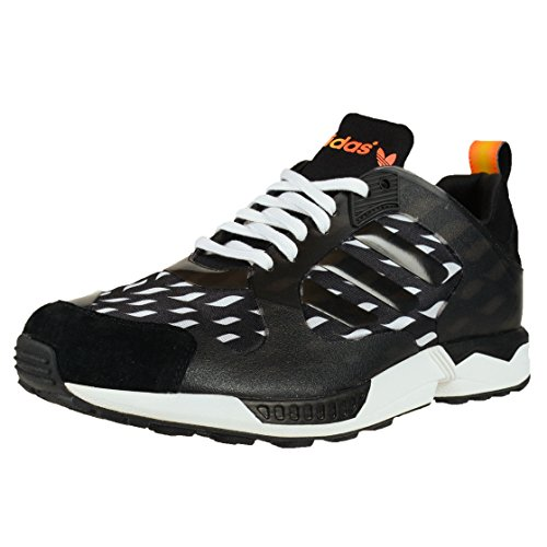 adidas ZX 5000 Rspn WC (Battle Pack) Uomo in Nero/Vapore Bianco, 10.5