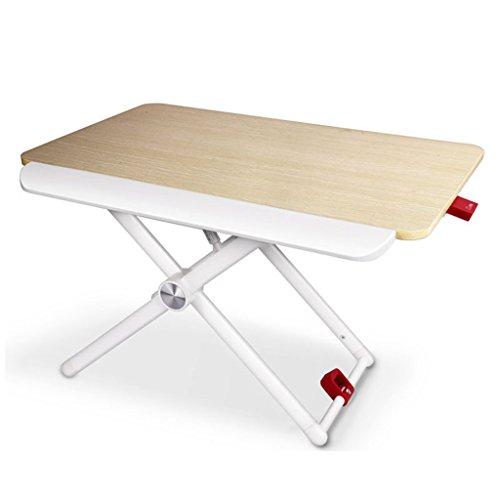 Table élévatrice pliante mobile de petite table de bureau de bureau d'ordinateur de bureau de Stand-up de petite table