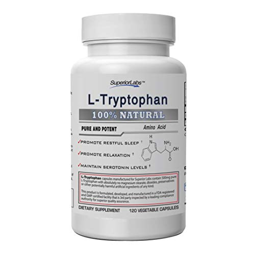 Top 10 best selling list for l-tryptophan supplement for dogs
