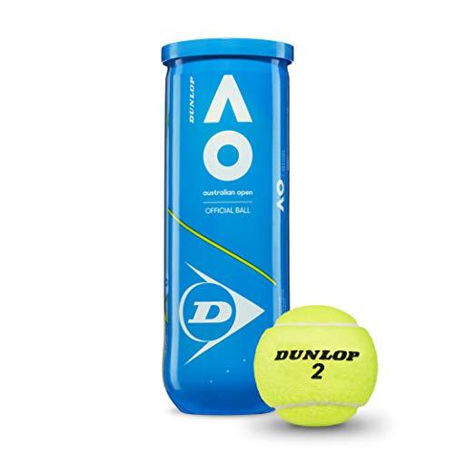 DUNLOP D TB Australian Open 3 Pet Tennisball Erwachsene, Unisex, Blau, One Size