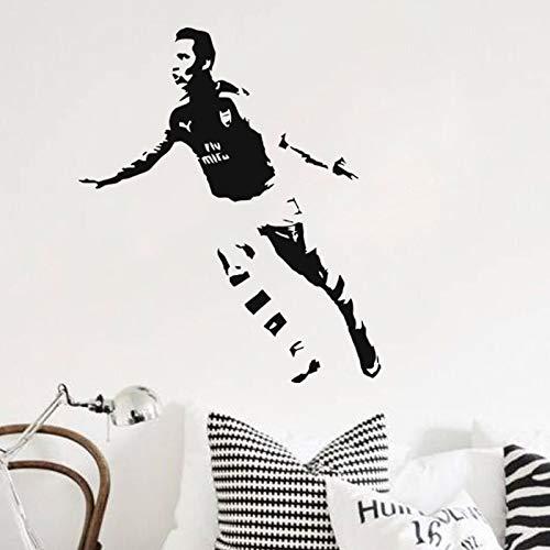 DIY vinilo calcomanía decoración del hogar fútbol deporte jugador de fútbol Barcelona FC Super estrella Alexis Sánchez pared pegatina niño dormitorio niños cartel