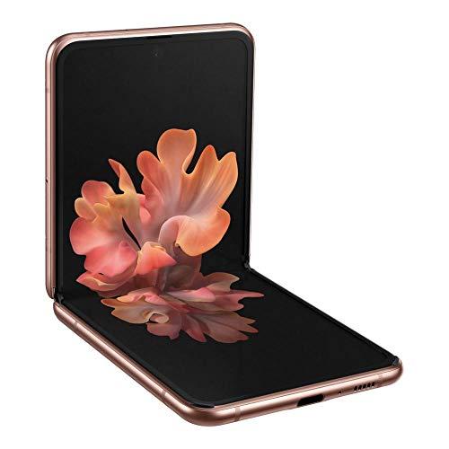 Samsung Galaxy Z Flip 5G SM-F707B Dual-SIM 256GB Factory Unlocked Android Smartphone (Mystic Bronze) – International…