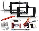 Set de instalación de radio Quadlock, adaptador de antena compatible con Mercedes-Benz Sprinter, Vito, Viano, Clase A, Clase B, Volkswagen Crafter (Fakra - DIN)