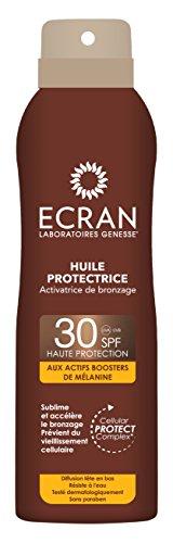 Ecran Brume Huile Protectrice Activatrice de Bronzage SPF 30 250 ml