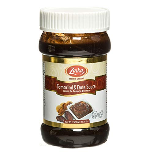 Zaika Tamarind & Date Sauce – 26Oz Premium Quality Freshly Ground Tamarind and Date Paste – Fine Quality Ingredients and Spices – Unique Flavor – Ideal for Snacks, Gravy, Indian and Thai Cuisine