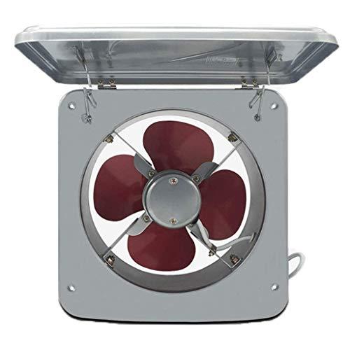 STRAW Ventilador de Ventana Reversible eléctricamente con características de protección contra tormentas y velocidades de Escape