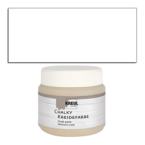 CREATIV DISCOUNT NEU Kreul Chalky Kreidefarbe 150ml Snow White
