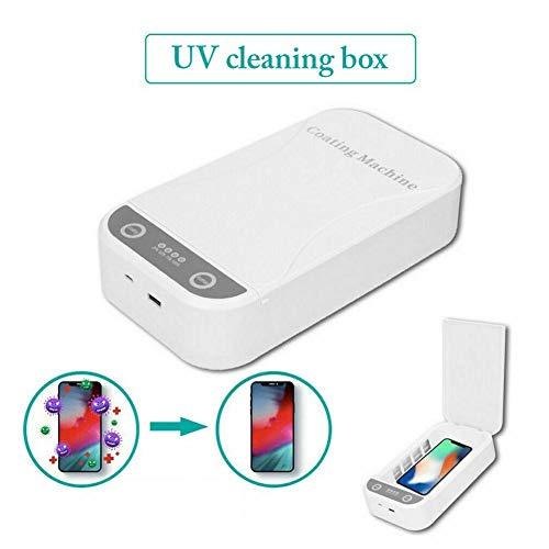 5V Ultraviolet mobiele telefoon sterilisator, USB oplaadbare Cleaning Box voor iOS Android mobiele telefoon Tandenborstel horloge Jewelry Aromatherapie