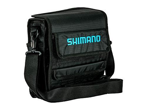 Shimano Bluewave Surf Bags Fishing Gear, Black/Blue, LG