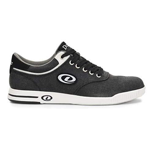 DEXTER Herren Kory III Blk/Wht Mens Size 11 Bowlingschuhe, schwarz/weiß