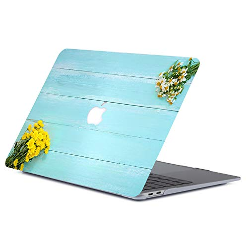 ACJYX MacBook Pro 15 inch Case 2015 2014 2013 2012 Release A1398, Plastic Hard Shell Cover Laptop Case for MacBook Pro 15' with Retina Display, Flower Pattern
