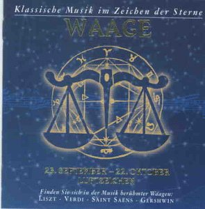 Klassische Musik im Zeichen der Sterne - Waage