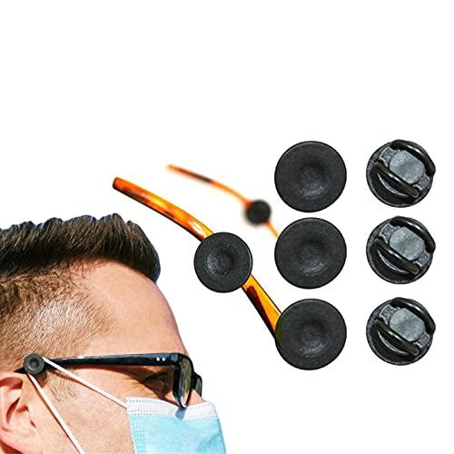N-D Gpure 4-10pcs Gancho Botones de Mascarillas para Gafas y Diadema Evite Que le Duelan los Oídos...