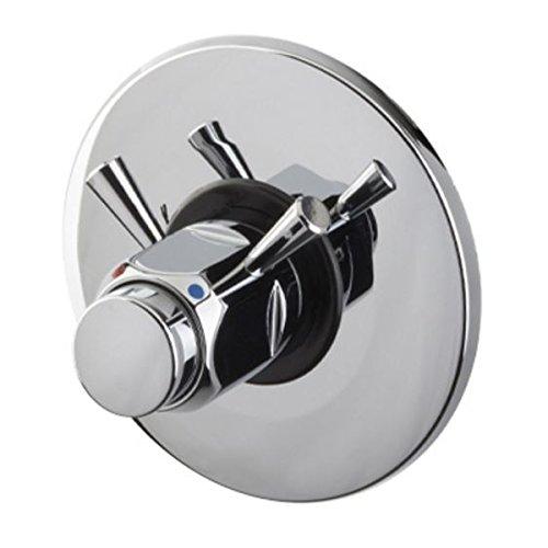 Sanixa MC9085 Einbau Dusch-Armatur selbstschließend Selbstschluss | zeitgesteuert| Mischbatterie -EINSTELLBAR- Drücker-Armatur Mischerarmatur Spezialarmatur