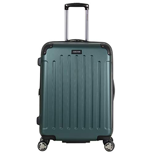 """Kenneth Cole Reaction Renegade 24"""" Lightweight Hardside Expandable 8-Wheel Spinner Checked-Size Luggage, Eden Green, inch"""
