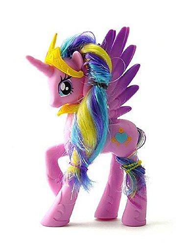 Kid Toy Model Gift For My Little Pony Princess Luna Nightmare Moon 14CM