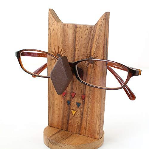 『メガネスタンド フクロウ』 【メガネスタンド おしゃれ かわいい おもしろ 収納 眼鏡スタンド メガネ置き 眼鏡置き アニマルメガネスタンド 老眼鏡 めがね プレゼント アニマル 動物 雑貨】