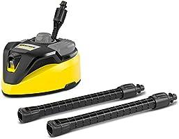 Kärcher oppervlaktereiniger T-Racer T 7 Plus (spatwaterbescherming, voor grote oppervlakken, twee vlakstraalsproeiers,...