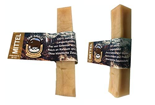 Yak Snack Hartkäse für Hunde 2 Mittel Käse Kauknochen Käsestangen Hunde