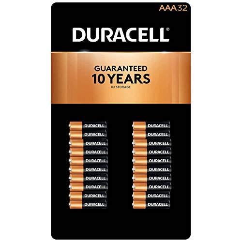 Duracell Batteries, Alkaline, AAA 32 Batteries