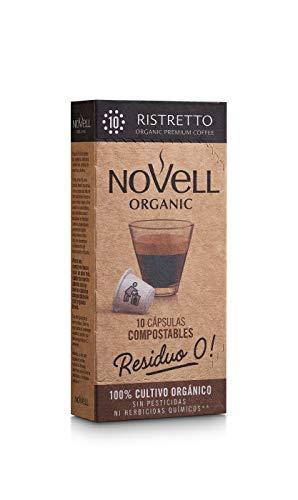 Cápsulas Compostables con café Ecológico - Ristretto - 10