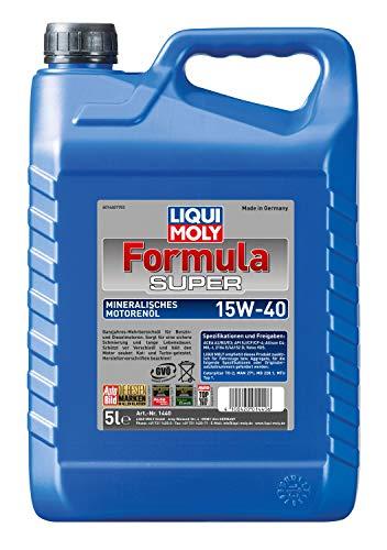 Liqui Moly 1440 Motoröl Formula Super 15W-40, 5 L