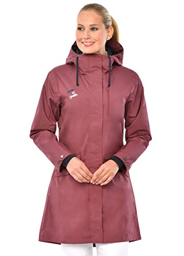 SPOOKS Maditha Rain Coat (Farbe: Dark Rose; Größe: XS)