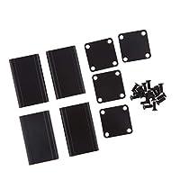 40x25x25mm エンクロージャー プロジェクトボックス DIY 電子ケース 軽量 耐久性 2個入