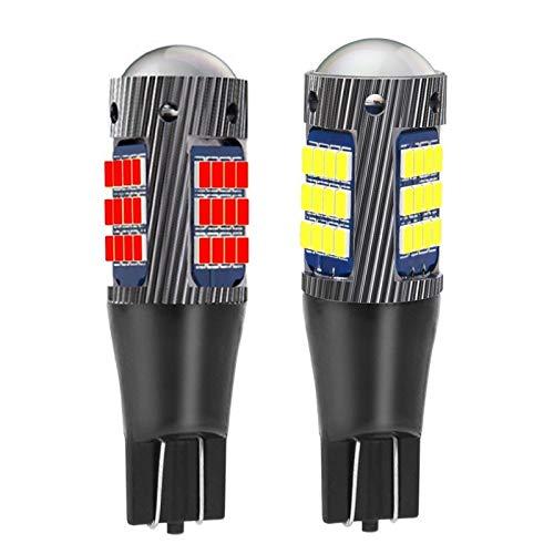 GAOLE Luces para automóviles 2 PCS NUEVO T15 W16W WY16W SUPER SUPER SPRANTE 2016 LED de la cola de la cola de la bulbo de la bulbo de la bombilla de la bombilla de la lámpara de niebla trasera automát