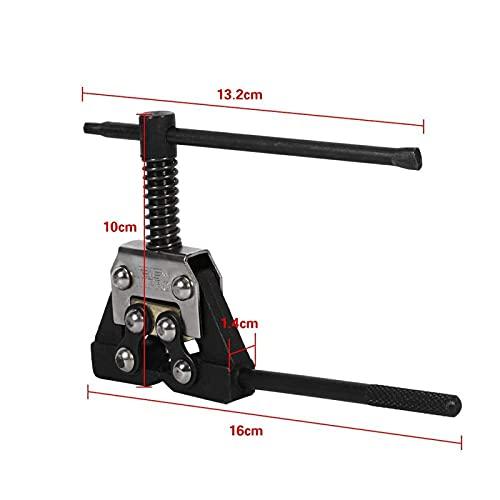 Triturador de cadena de motocicleta Eliminación del eslabón divisor del interruptor de cadena 420-530 Herramientas de remachado de paso ATV Motocicleta kit cambio catena moto