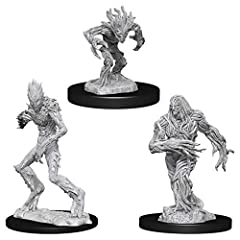 Features characters, monsters, and scenery from the Dungeons & Dragons universe Little to no assembly required Primed and ready to paint Some miniatures include translucent parts This is a 3-count monster pack which includes one Needle Blight, one Vi...
