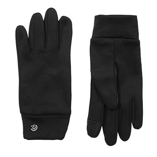 C9 Champion Kids' Machine Washable Lightweight Gloves, Touch Screen Friendly, Black, Boys' 4/7