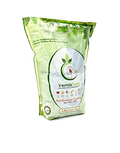 VermisTerra Earthworm Castings - Organic (5 LB)