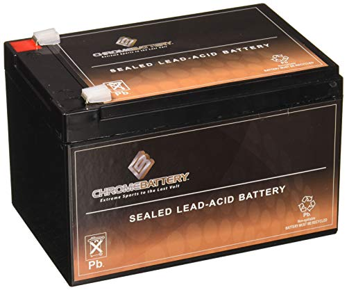 Chrome Battery 12V 12AH lead_acid_battery