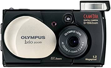Olympus Camedia Brio D-150 1.3MP Digital Camera w/ 3x Optical Zoom