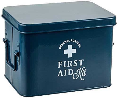 アビテ 救急箱 フェール ファーストエイドボックス S ネイビー HO-501-NV 約22.5×17×16cm