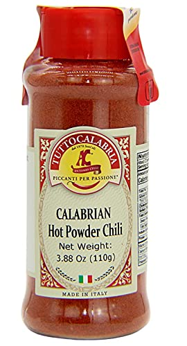 TuttoCalabria Calabrian Hot Chili Powder (110 g (3.88 oz), Use wherever chili powder is called for.