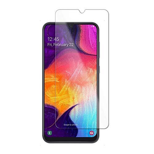 im77r Protector de Pantalla Premium 2.5D Cristal Vidrio Templado 9H Compatible para Samsung A20 (Transparente 1 Unidad)
